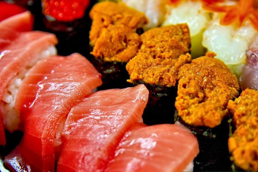 チートデイには寿司